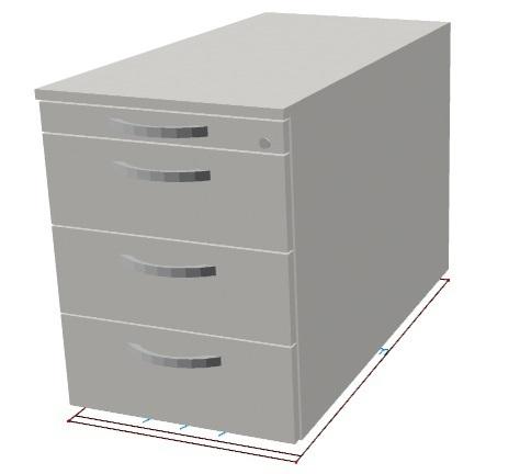 oka flexline rollcontainer mit schloss reduziert. Black Bedroom Furniture Sets. Home Design Ideas